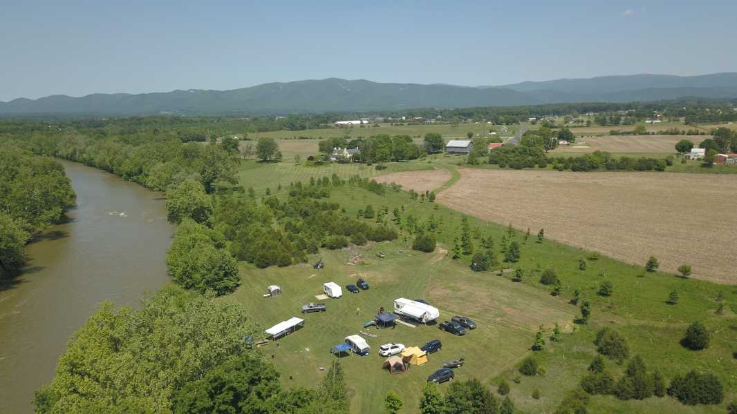 Drone Photo Elkton VA