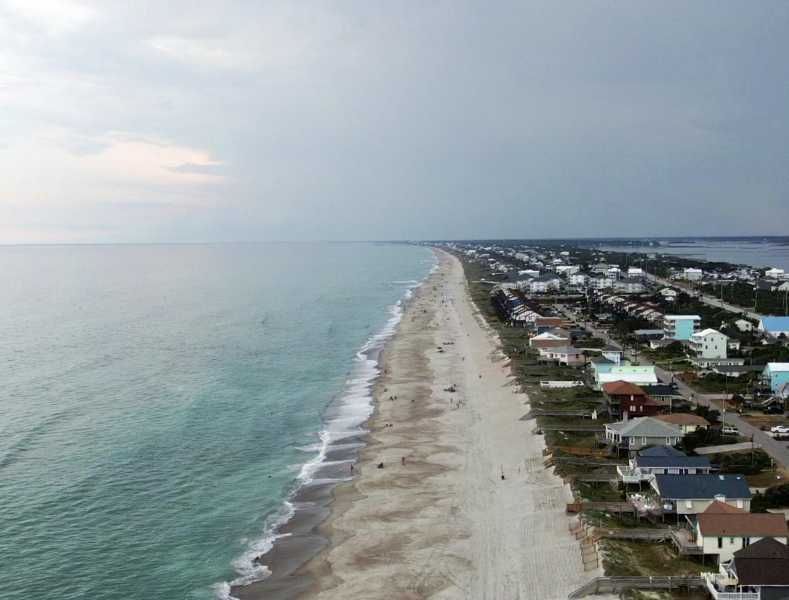 Drone Photo Emerald Isle NC