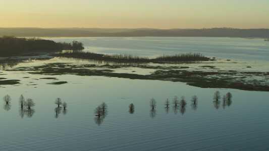 Drone Photo Eufaula Lake Ok