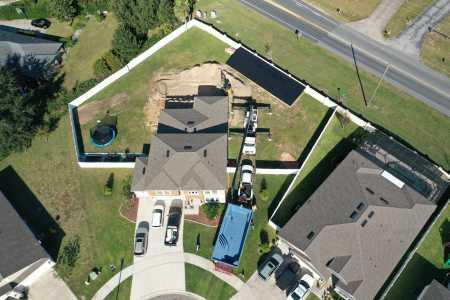 Drone Photo Eustis FL