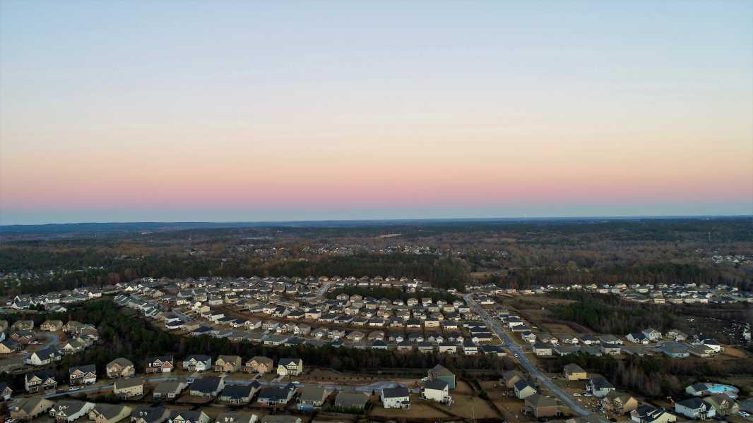 Drone Photo Evans GA