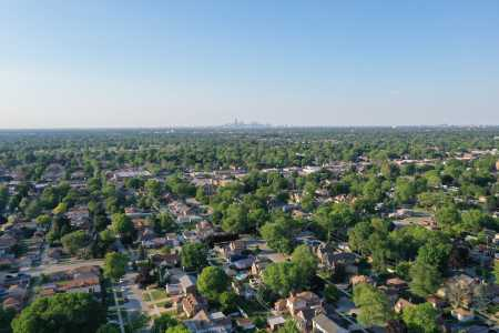 Drone Photo Evergreen Park IL