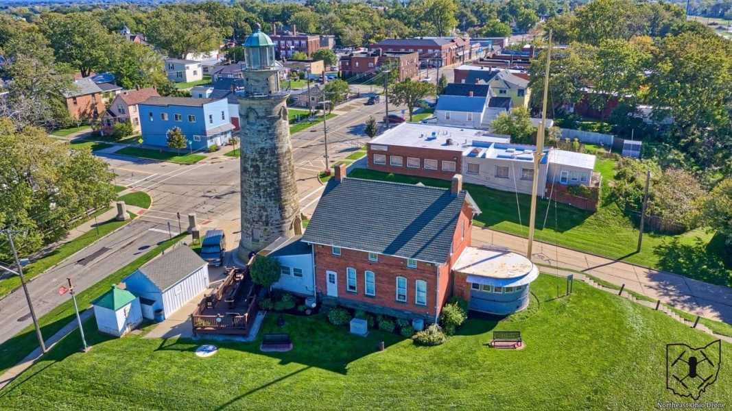 Drone Photo Fairport Harbor OH