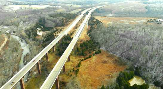 Drone Photo Fayetteville AR