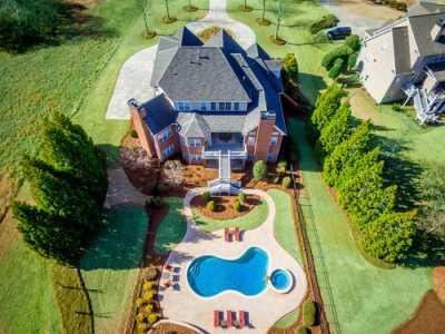 Drone Photo Fayetteville GA