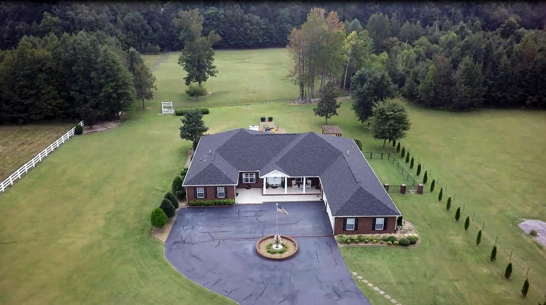 Drone Photo Fayetteville TN