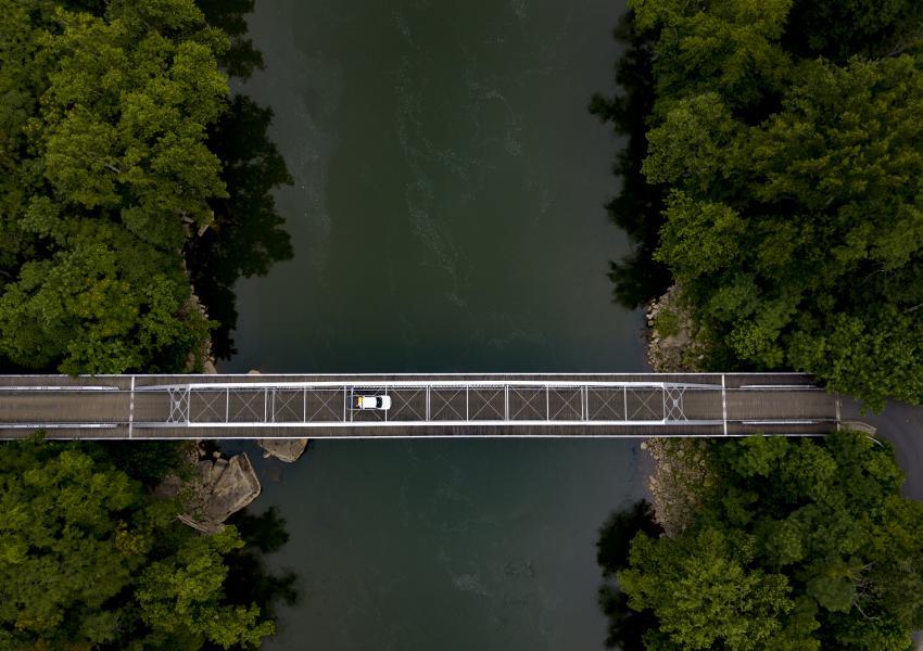 Drone Photo Fayetteville WV