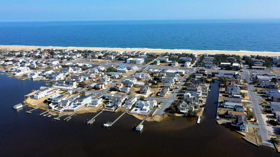 Drone Photo Fenwick Island DE