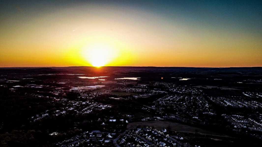 Drone Photo Fleetwood PA