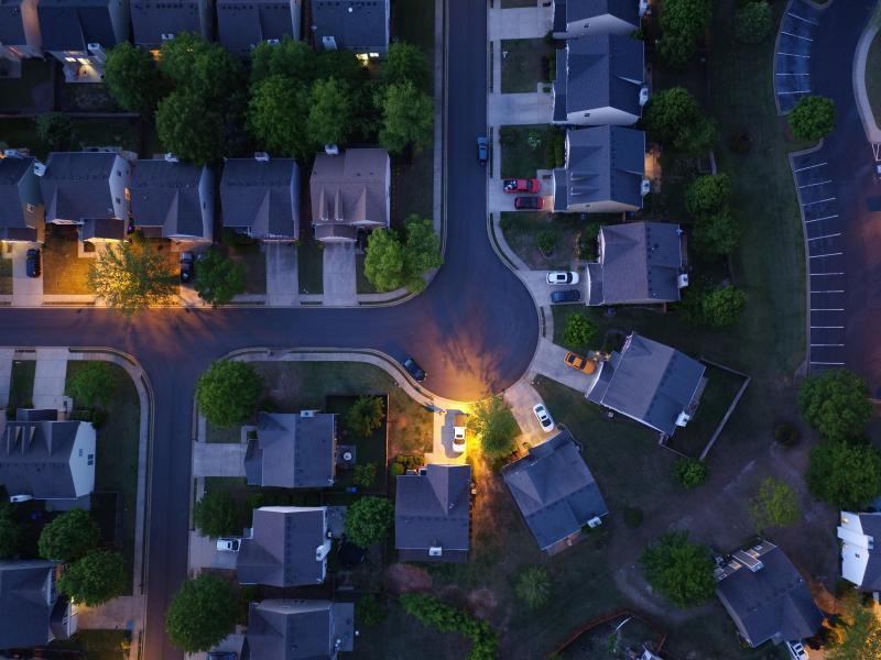 Drone Photo Forsyth County GA