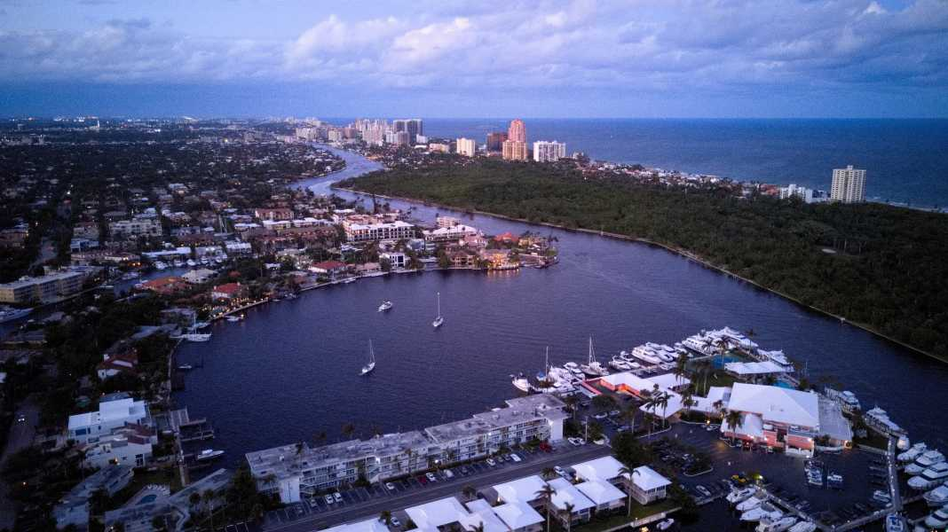Drone Photo Fort Lauderdale FL