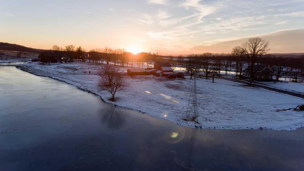 Drone Photo Fredon Township NJ