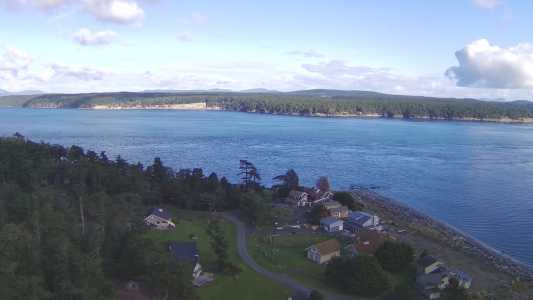 Drone Photo Friday Harbor WA