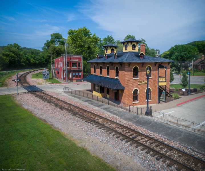 Drone Photo Galena IL