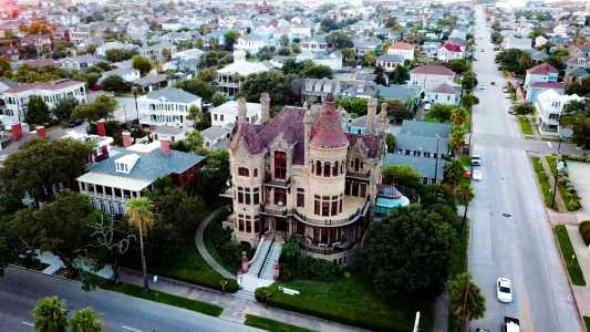 Drone Photo Galveston TX