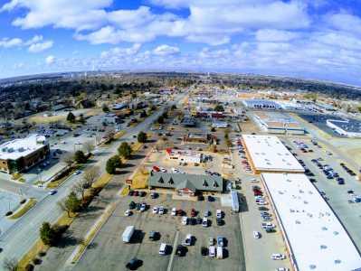 Drone Photo Garden City KS