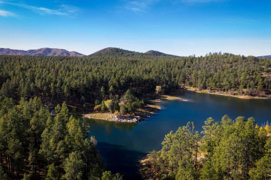 Drone Photo Goldwater Lake Ar