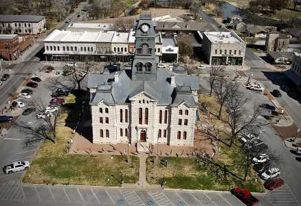 Drone Photo Granbury TX