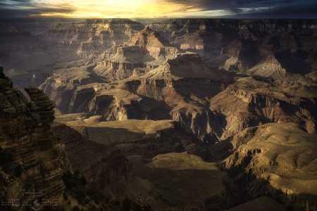 Drone Photo Grand Canyon Village AZ