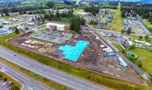 Drone Photo Grand Mound WA
