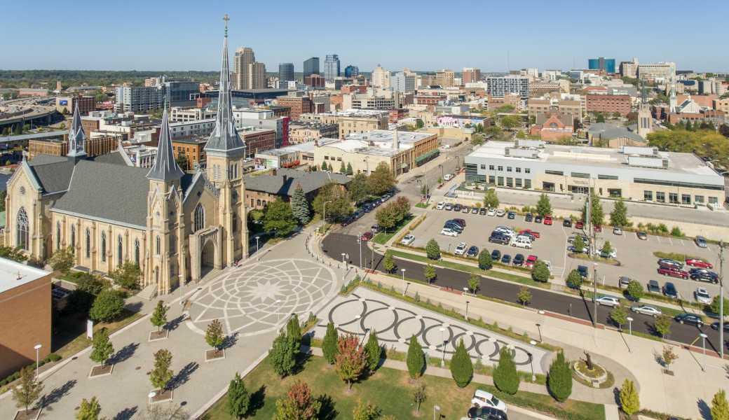 Drone Photo Grand Rapids MI
