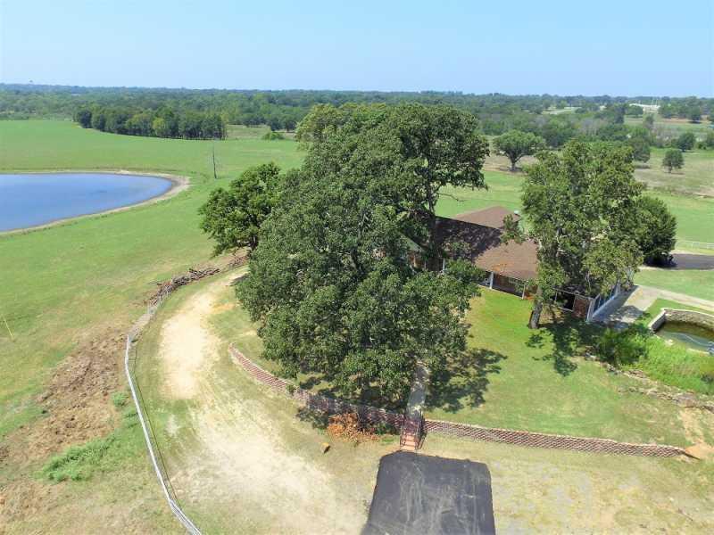 Drone Photo Grand Saline TX