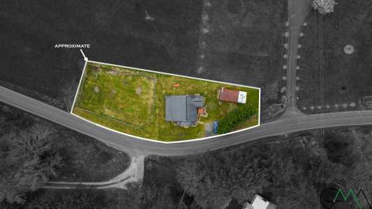 Drone Photo Green Mountain NC