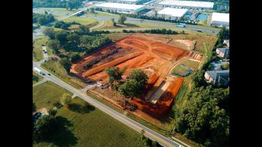 Drone Photo Greensboro NC