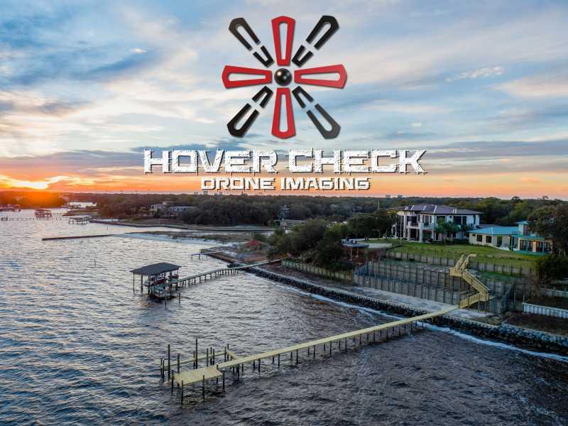 Drone Photo Gulf Breeze FL