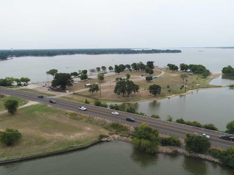 Drone Photo Gun Barrel City TX