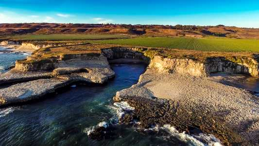 Drone Photo Half Moon Bay CA