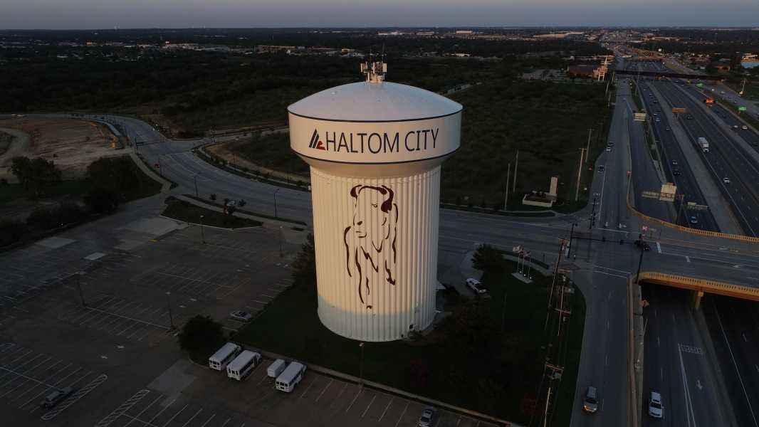 Drone Photo Haltom City TX