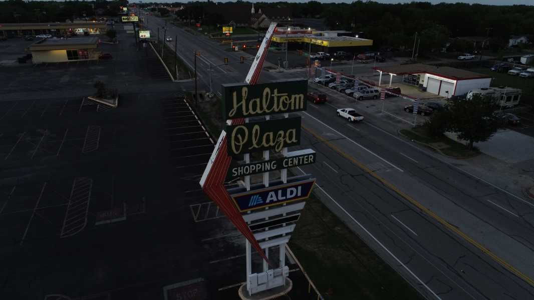 Drone Photo Haltom City TX