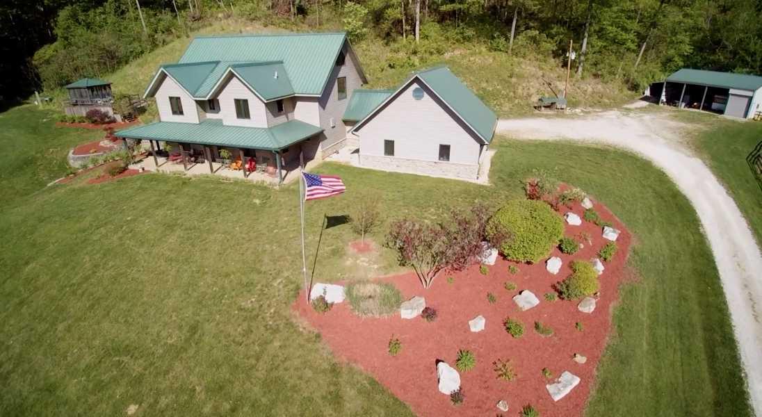 Drone Photo Hardin IL