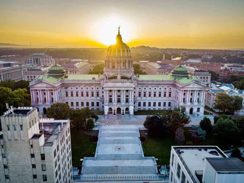 Drone Photo Harrisburg PA