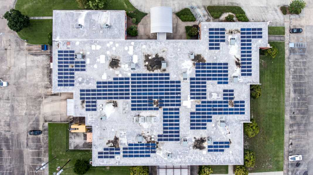 Drone Photo Hattiesburg MS