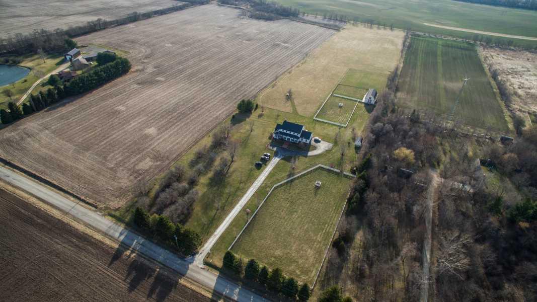 Drone Photo Hebron IL