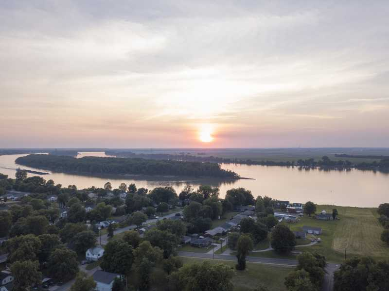 Drone Photo Henderson KY