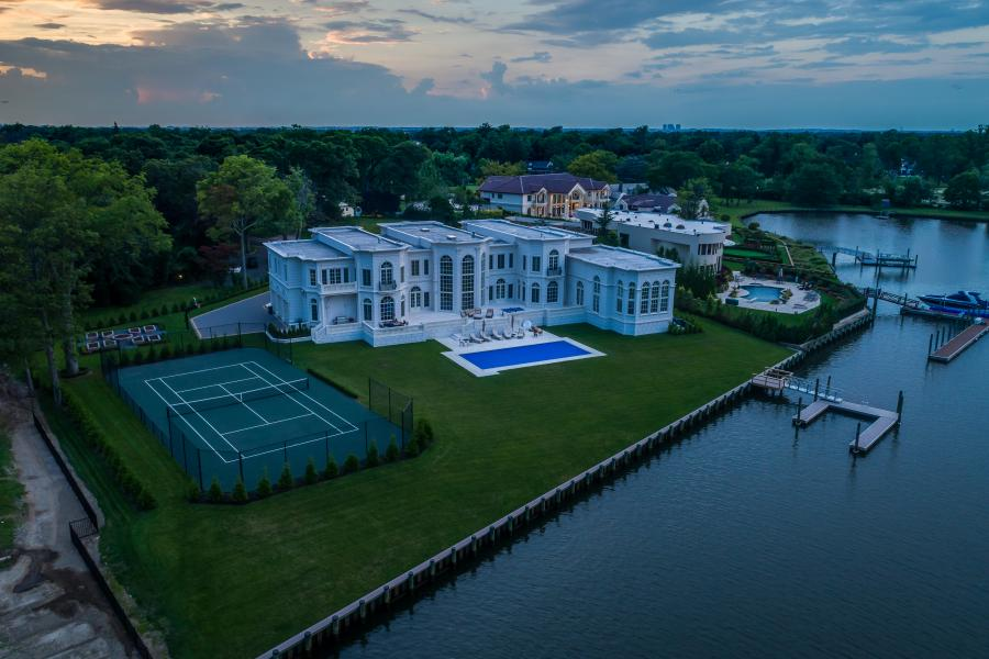 Drone Photo Hewlett Harbor NY