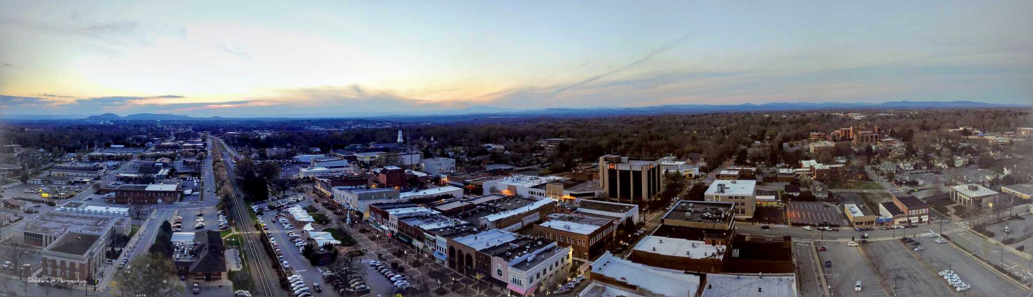 Drone Photo Hickory NC