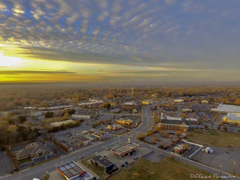 Drone Photo Hickory NC