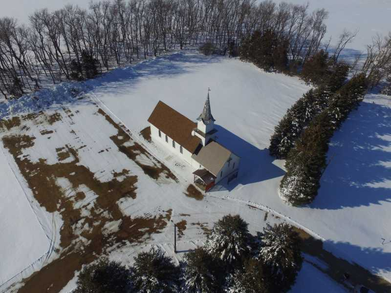 Drone Photo Hidewood Township SD