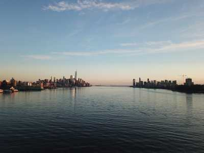 Drone Photo Hoboken NJ