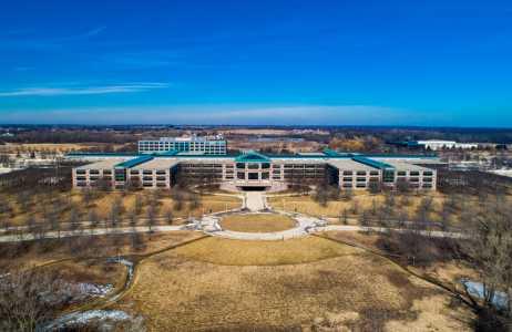 Drone Photo Hoffman Estates IL