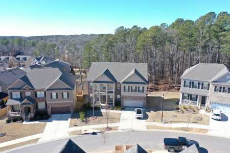 Drone Photo Holly Springs GA