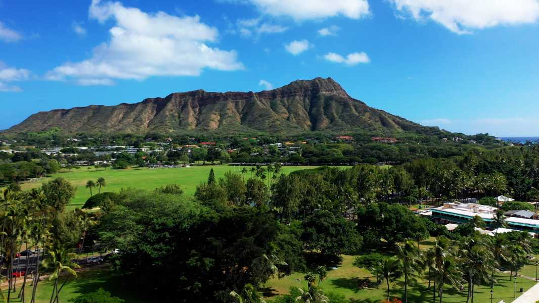 Drone Photo Honolulu HI