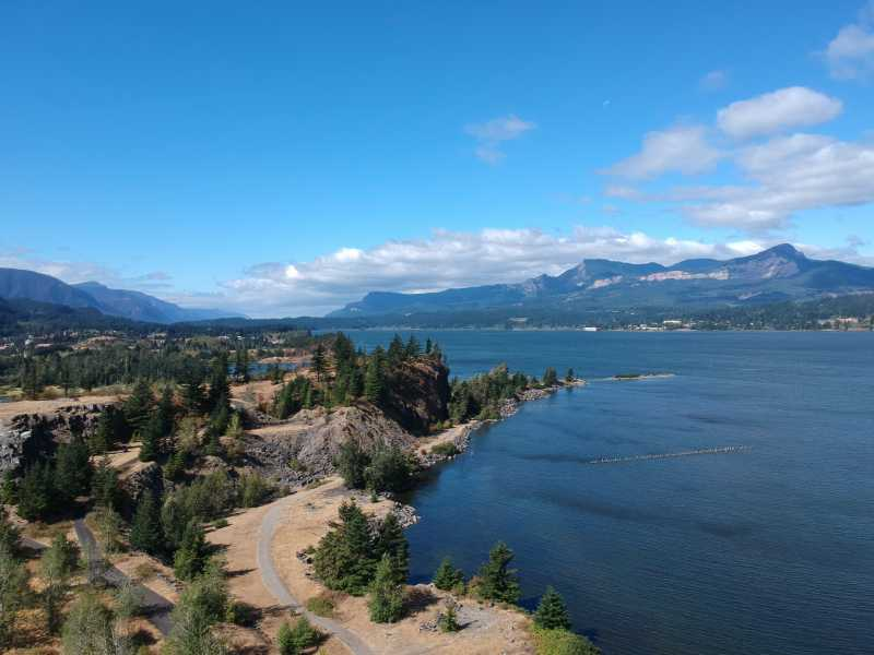 Drone Photo Hood River OR