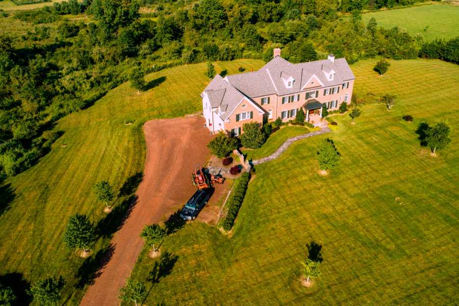 Drone Photo Hopewell NJ