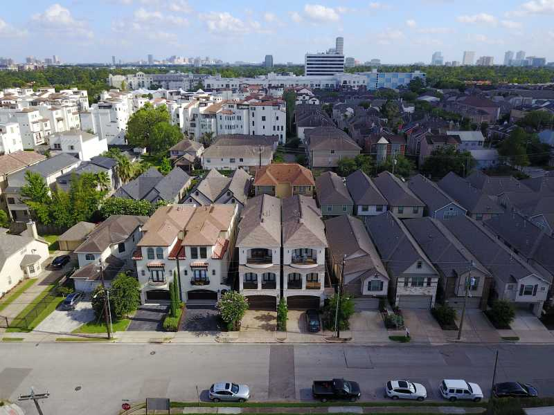 Drone Photo Houston TX
