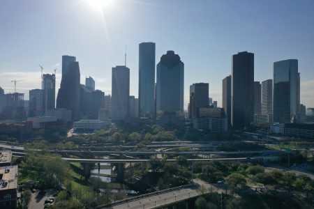 Drone Photo Houston TX